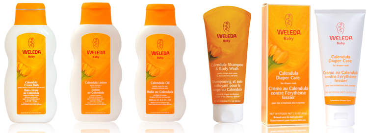 Weleda, Calendula, product review, baby care, baby products