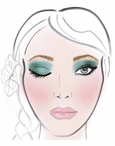 Makeup tricks for green eyes