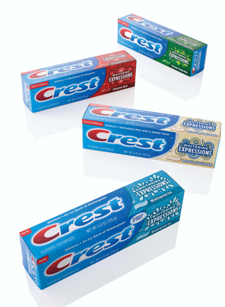 Crest Whitening Expressions