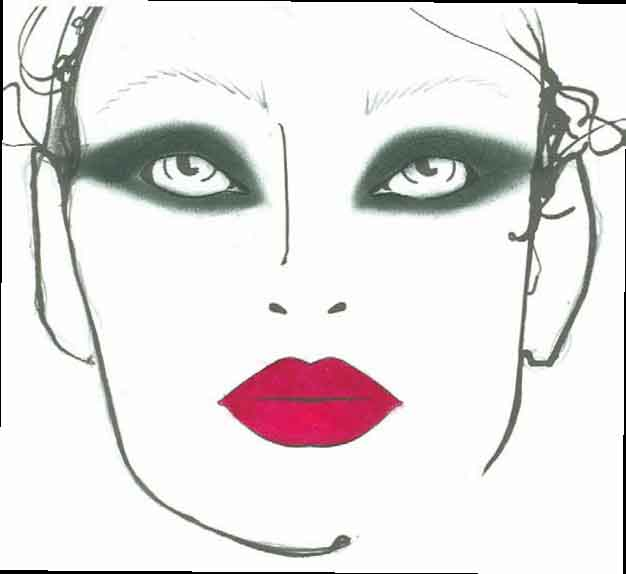 MAC Cosmetics, Face Charts, LAMB, Spring Fashion Week, New York Fashion Week, Beauty Blog, Makeup Reviews, Beauty News, Cosmetics