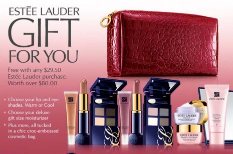 Estee Lauder Gift With Purchase Promotion: Macy's 2010