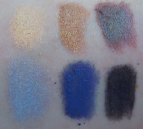 lorac multiplex 3d eyeshadow swatches