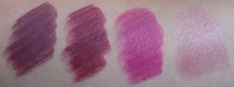 Purple Mac Lipstick Swatches images