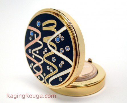 Estee Lauder Holiday Compacts 2014, Gleaming Streamers, holiday gift guide 2014