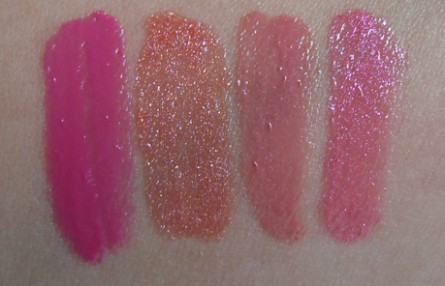 le metier de beaute northern lights swatches, Kaleidoscope Lip Kit