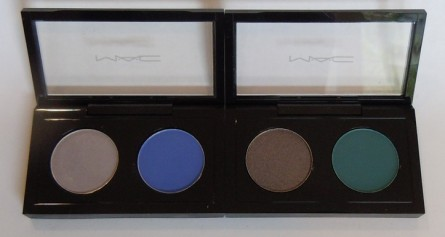 mac reel sexy eye shadow x 2, mac reel sexy eye shadow swatches