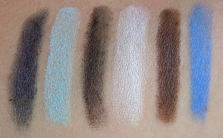 drag strip swatch, little miss moffet swatch, beth and glory swatch, swatches, reviews