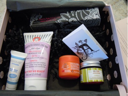 june glossybox photos, products in june glossybox, summer glossybox usa