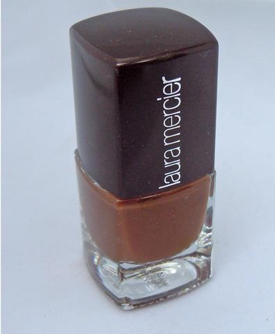 laura mercier, cocoa suede nail polish