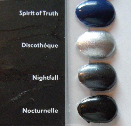 Spirit of truth, discotheque, nightfall, noctournelle, nail polish swatches, mac swatches, nail lacquer swatches, review, reviews, news, makeup news
