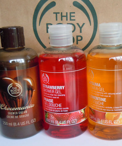 body shop shower gel photo, body shop shower gel reviews