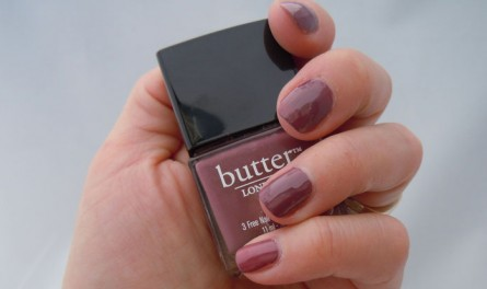 butter london toff, toff swatch, butter london toff swatch