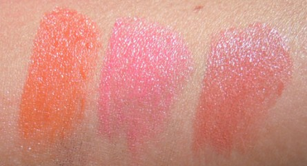 saigon summer swatch, sunny seoul swatch, shanghai spice swatch, mac lipsticks, photo, photos, review, reviews, swatch, swatches