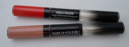 make up for ever, aqua rouge