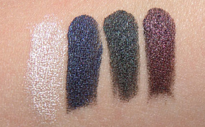 Black tango palette swatches, aqua cream swatches, black tango make up for ever, make up for ever black tango palette