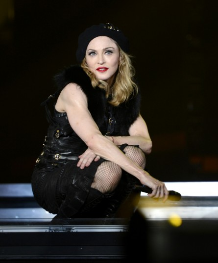 madonna, iconic red, make up for ever