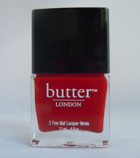 come to be red review, come to be red swatch, butter london