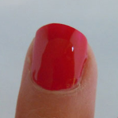 come to bed red swatch, butter london,