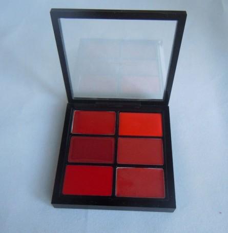 editorial reds, mac pro lip palette, lip palette