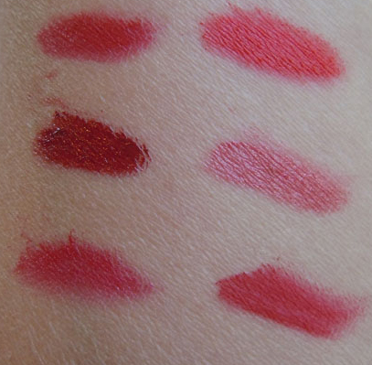 mac editorial reds, mac pro lip palette