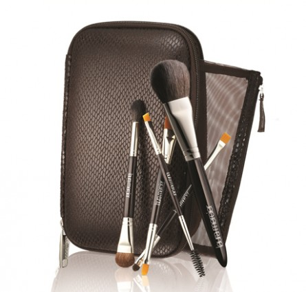 laura mercier travel brush set, holiday 2012
