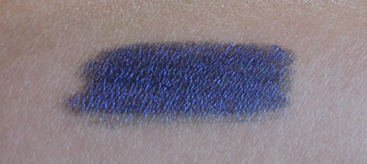 fierce blue swatch, prestige total intensity eyeliner, fierce blue eyeliner, prestige fierce blue