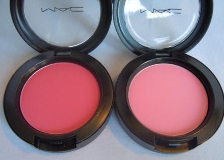 whole lotta love, stay pretty, mac prolongwear blush, mac office hours