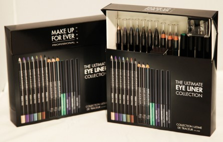 ultimate eyeliner gift set, make up for ever, holiday2012