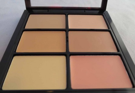 conceal and correct palette