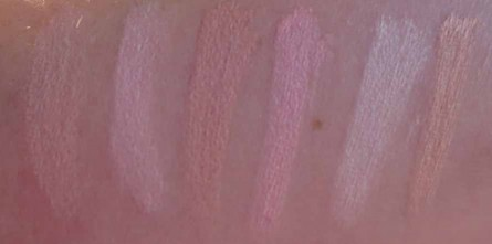 mac conceal correct swatches light