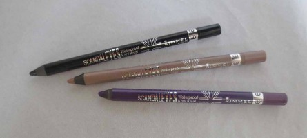 Rimmel London Scandal'Eyes Eye Pencil review, swatches, blog, makeup blog, beauty blog
