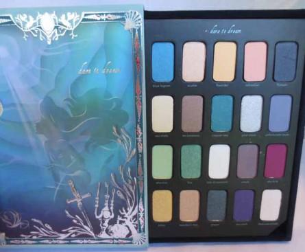 the disney ariel storylook eyeshadow palette