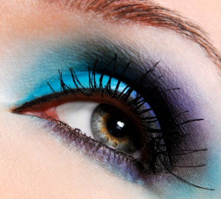 blue eye makeup, blue makeup ideas, blue makeup