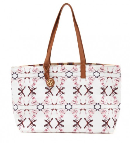 Born Free, Tory Burch Reversible Tote
