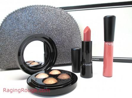 MAC Keepsakes Gold Lip and Eye Bag, Holiday 2014
