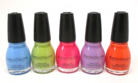 SinfulColors Spring 2015 Polish Collection