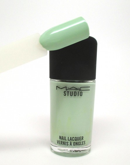 Doll Me Up Swatch, MAC Studio Nail Lacquer