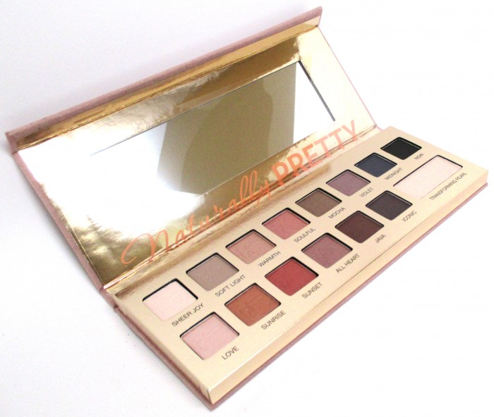 IT Cosmetics Naturally Pretty Eyeshadow Palette, Review, Swatches, Opinion, Photos