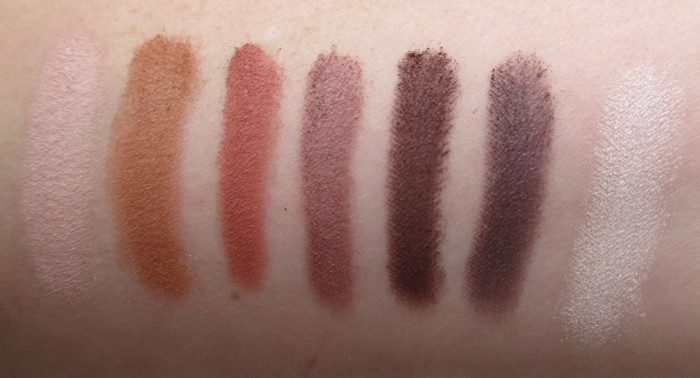 IT Cosmetics Naturally Pretty Swatches, Bottom Row
