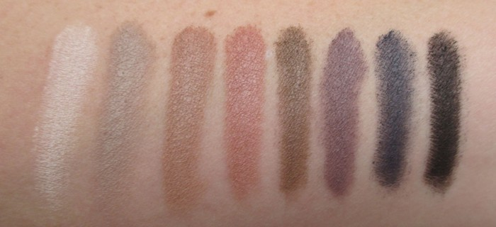IT Cosmetics Naturally Pretty Swatches, Top Row