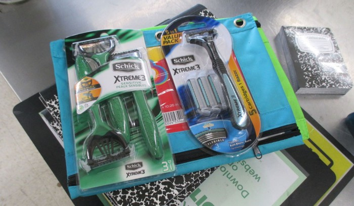 Back To School Shopping With Schick At Dollar General | RagingRouge.com, #sponsored