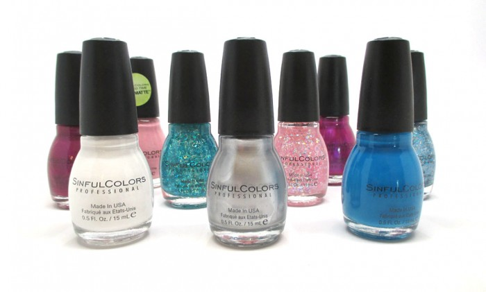 Sinful Colors Back To School Collection