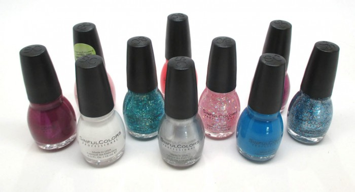 Sinful Colors Back To School Collection 2015