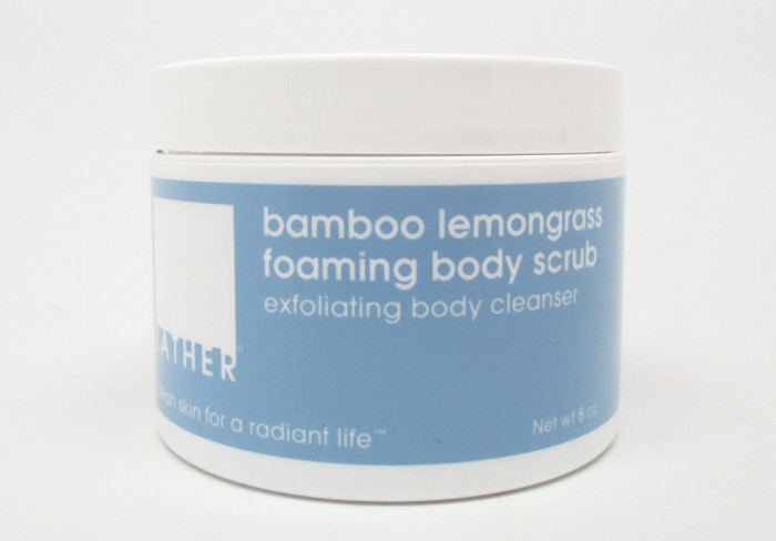 Lather Bamboo Lemongrass Body Scrub Review