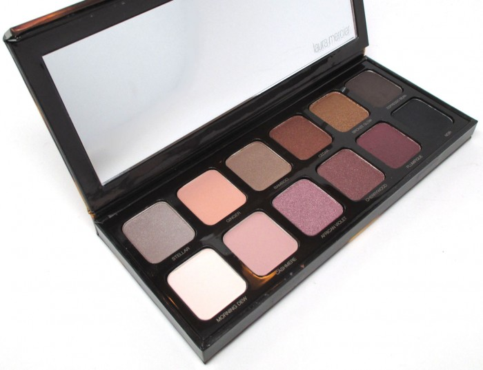 Laura Mercier Sleek And Chic Eye Colour Palette, Holiday 2015