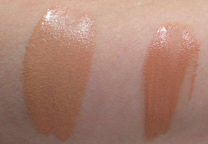 MAC Studio Waterweight Foundaton Swatches, NW25 and NW 30 | RagingRouge.com