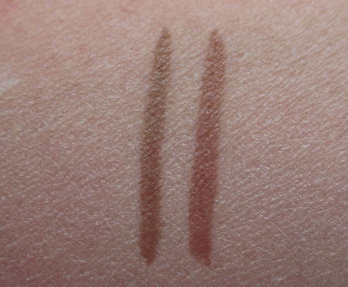 Lancôme Sourcils Tint Swatches: Brun and Chatain