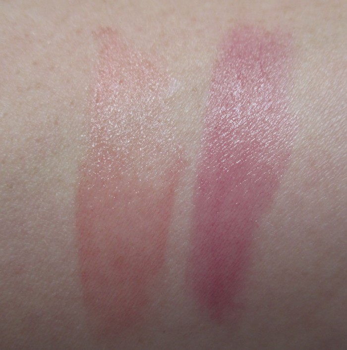 Rimmel London Keep Calm Balm Swatches: Play and Party