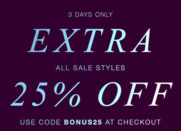 Shopbop's Sale Section Is On SALE!