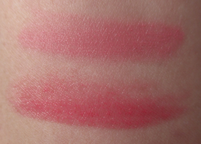 Swatches: Je Ne Sais Quoi Lipstick and Blush